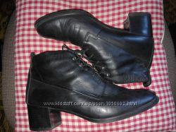 Кожаные ботинки DONNA 39-40рр