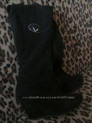 чоботи замшеві зимові