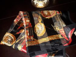 платок шарф hermes Roberto Cavalli Gucci.