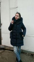 Теплая зимняя куртка с мехом