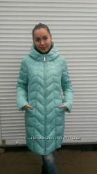Стеганное пальто