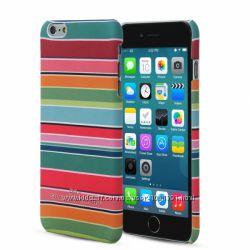 Полосатый чехол накладка ARU для на Айфон iPhone 6