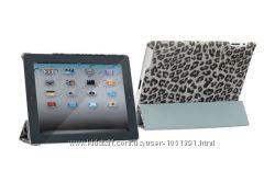 Леопардовой текстуры чехол Nuoku ROYAL case для на iPad 2 3 4