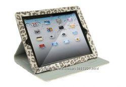 Леопардовый Чехол Nuoku LEO leather case для на Айпад iPad 2 3 4