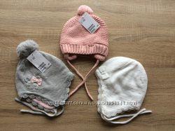 шапочки еврозима  H&M  от 68 до 80 см