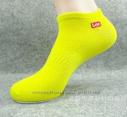 Низкие женские носки Lee. Низькі жіночі шкарпетки Lee.