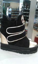Сникерсы ботинки женские демисезонные