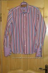 Эффекттная красочная хб рубашка. Daniel Christian. Англия. 4.