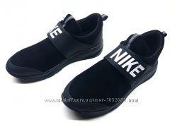 Детские  кроссовки Nike из натуральной кожи