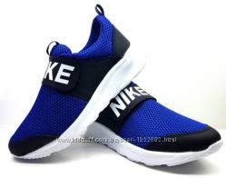 Кроссовки   подростковые кожа  сетка Nike