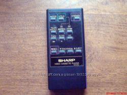 Пульт ДУ к видео кассетному плееру Sharp G0653GE
