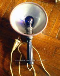 Рефлектор медицинский рефлектор Минина, Синяя лампа. Рабочий. Бу.