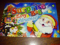 Наклейка праздничная Merry Christmas Веселого Рождества. Новая.