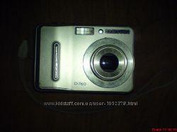Цифровой фотоаппарат Samsung D760 Silver на запчасти  восстановление