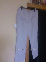 Фирменные брюки Atmosphere XXL XL бежевые хлопок зауженные