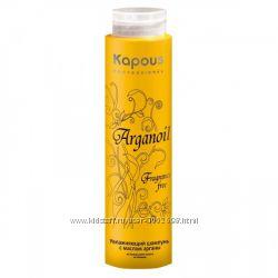 Увлажняющий шампунь с маслом Арганы KAPOUS