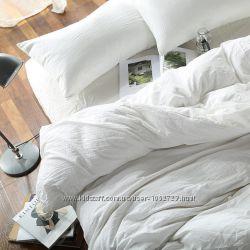 льняное белое постельное белье, подарок на свадьбу