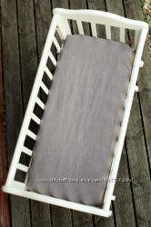 натуральный матрас в коляску, льняной, экологический