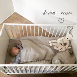 Детское льняное постельное белье