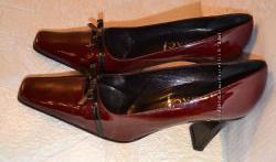 р. 39 Италия, LORBAC, натуральная кожа. Уютные, изящные, классические туфли