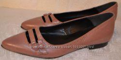 р. 36-36, 5 Италия, Roberto Santi, натуральна кожа. Суперкомфортные туфли