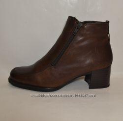 Janet D, Германия, натур. кожа. Комфортные ботинки ботильоны, р-р 37, 5-38