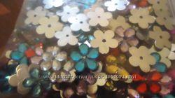 разноцветные цветы для декорирования