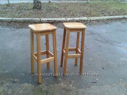 Барні стільці з натурального дерева. Ручна робота