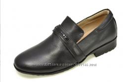 Туфли черные кожаные B&G 35р