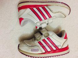 Adidas, кросівки для дівчинки, кроссовки кожаные