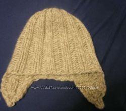 шапка зимняя вязаная