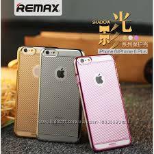 Чехол накладка пластик Remax для на Айфон iPhone 6 Shadow PC