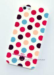 Замечательный чехол накладка с точками ARU для на Айфон iPhone 5C