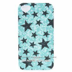 Накладка чехол со звёздочками ARU для на Айфон iPhone 4 и 4S