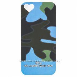 Чехол накладка камуфляж ARU для на Айфон iPhone 5 и 5S