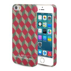 Класический чехол накладка ARU на для Айфон iPhone 5 и 5S