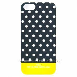 Чехол накладка с кружочками ARU для на Айфон iPhone 5 и 5S Dots