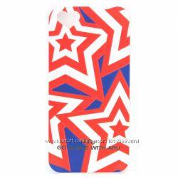 Чехол накладка звезда ARU для на Айфон iPhone 5 и 5S Stars
