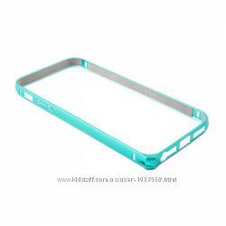 Прочный Чехол бампер Devia для iPhone 5 5S Buckle Curve