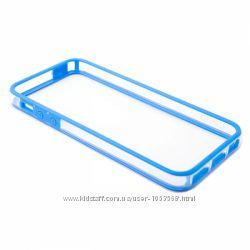 Новый Чехол бампер силикон Devia для на Айфон iPhone 5 5S