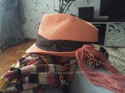шляпка с шарфиком Accessorize