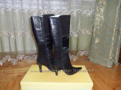 класичні натуральні чобітки 39р. стелька 25, 5