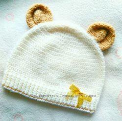 Весенняя шапка мальчику или девочке