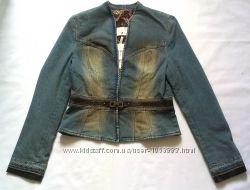 Джинсовый пиджак GIZIA , 42 размер