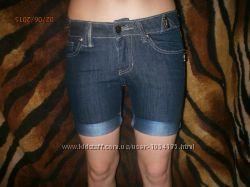 джинсовые шорты Италия 25-26р