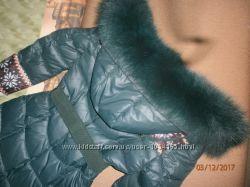 Куртка пуховик пальто 42р XS-S