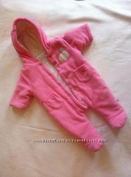 Комбинезон Mothercare и шапочка для новорожденной девочки весна-осень