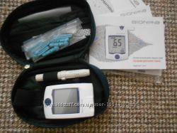 Глюкометр. Система контроля уровня глюкозы в крови Bionime Rightest GM-300