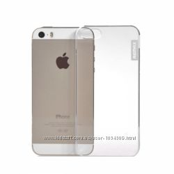 Прозрачная Чехол накладка Remax для на Айфон iPhone 5 и 5S 0. 5mm