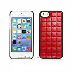 Качественный чехол накладка Xoomz для на Apple Айфон iPhone 5 и 5S